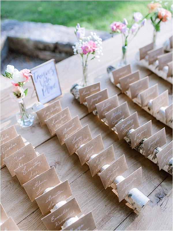 Luxury Handwritten Placecards