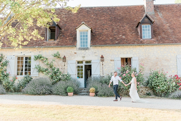 Manoir de la Foulquetiere real wedding