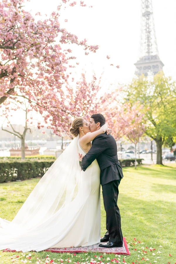 Outdoor Paris wedding