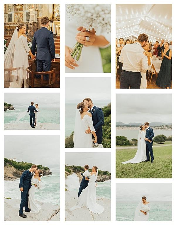 Romantic Basque Country Wedding Snapshot