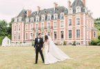 Romantic Chateau De La Cazine wedding
