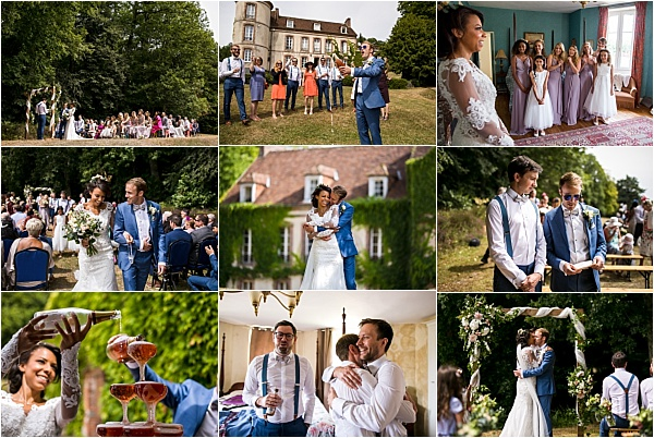 Romantic Wedding Chateau in Normandy Snapshot