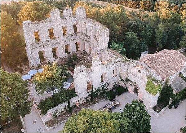 Chateau de Grimaldi Aerial View