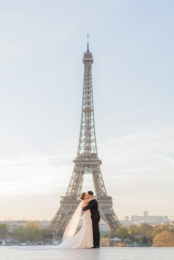 Spring Elopement in Paris