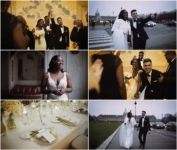 Ultra chic wedding in Paris Photography by Yellowbird visuals Snapshot