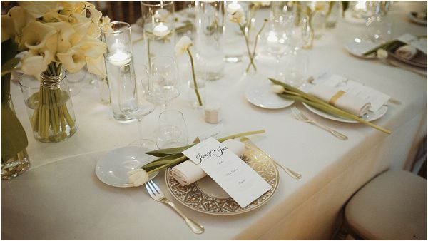 Ultra chic wedding table setting Photography by Yellowbird visuals