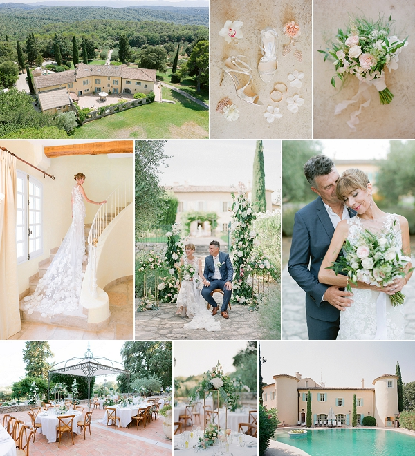Wedding at Château Les Crostes Provence Snapshot