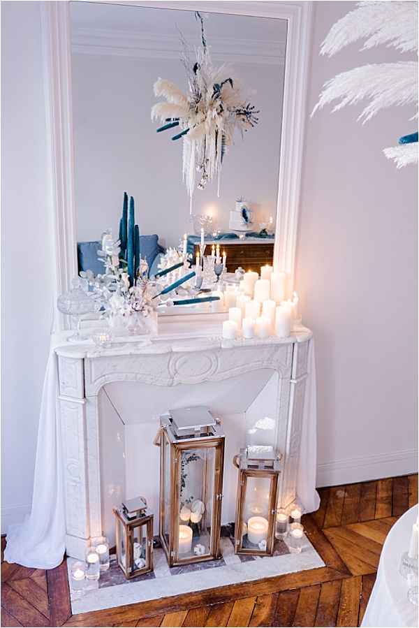 White decorations