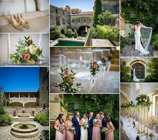 Wow wedding at Chateau St Maximin France Snapshot