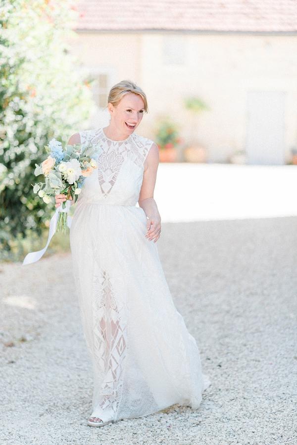 boho bride look