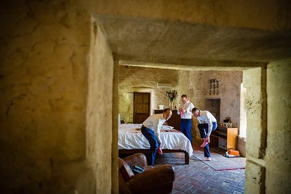 chateau wedding accommodation