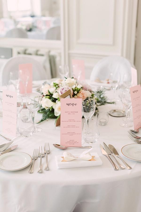 chateau wedding decor