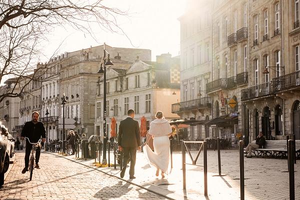 french city wedding