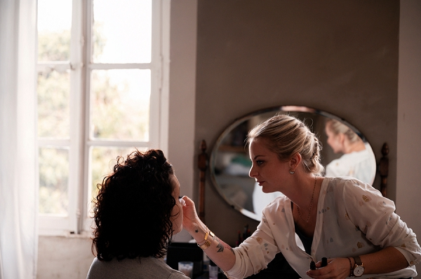 make up artist wedding in South West France