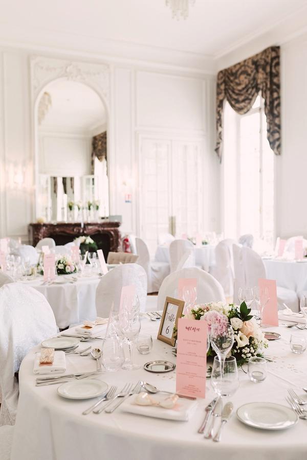 simple and elegant wedding decor
