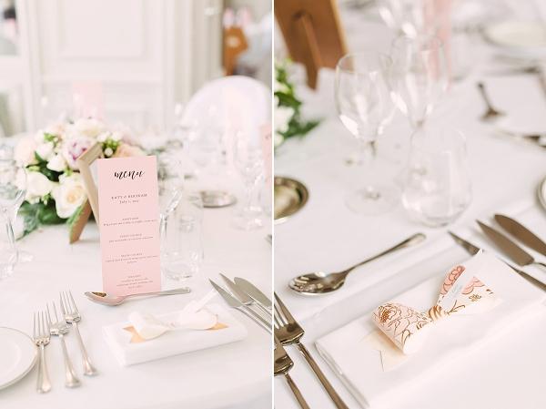 simple wedding decor