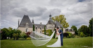 Claire Mischevani bride for destination wedding in France