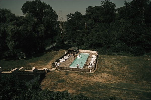 Chateau Lagorce Swimming Pool