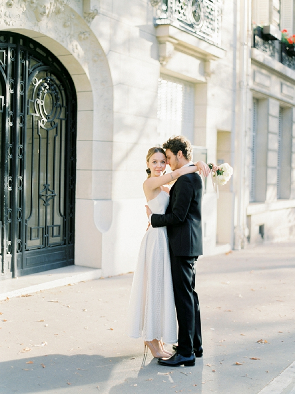 Chic Wedding Inspiration in Paris