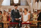 Laure de Sagazan Wedding Dress for Destination Wedding