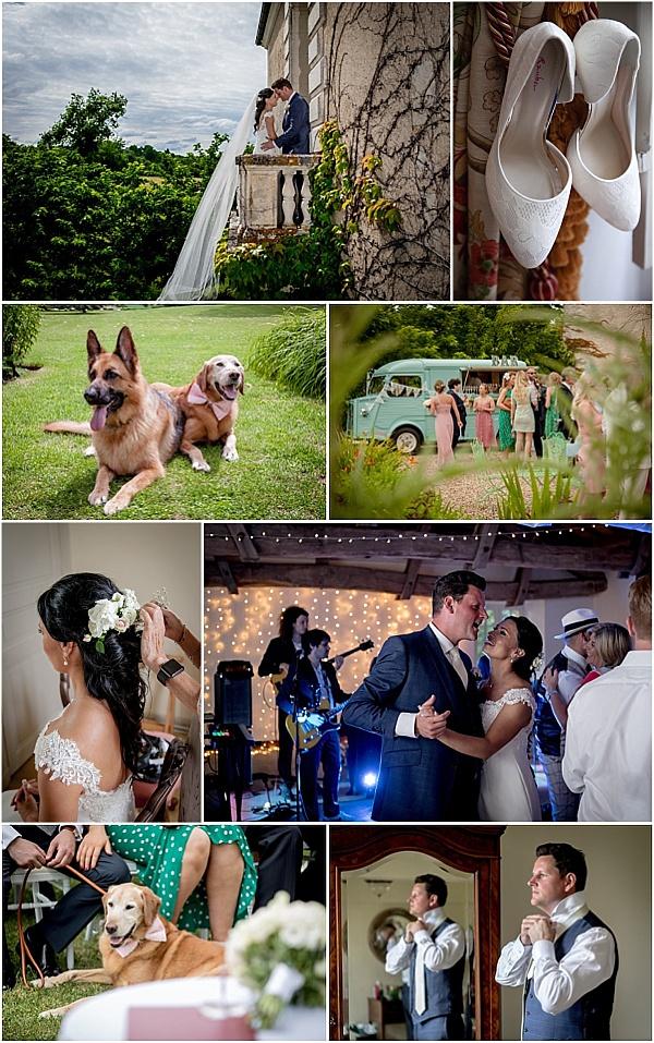 Claire Mischevani bride for destination wedding in France Snapshot