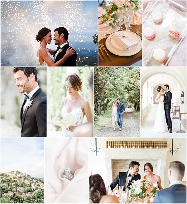 Classic Provencal wedding inspiration at La Bastide de Gordes Snapshot