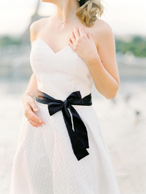 Coco Chanel Wedding Inspiration dress