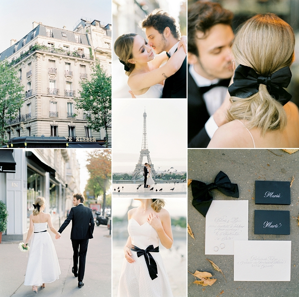 Coco Chanel Wedding Inspiration in Paris Snapshot