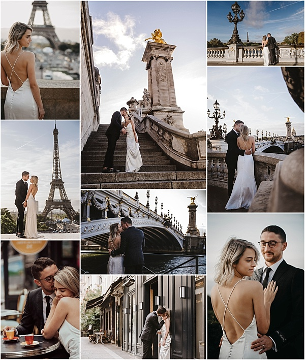 First Anniversary Shoot in Paris Snapshot