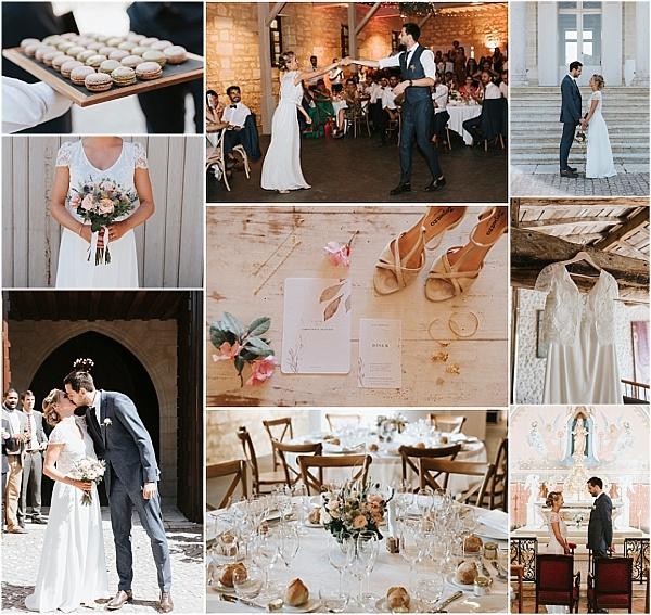 Laure de Sagazan Wedding Dress for Destination Wedding Snapshot