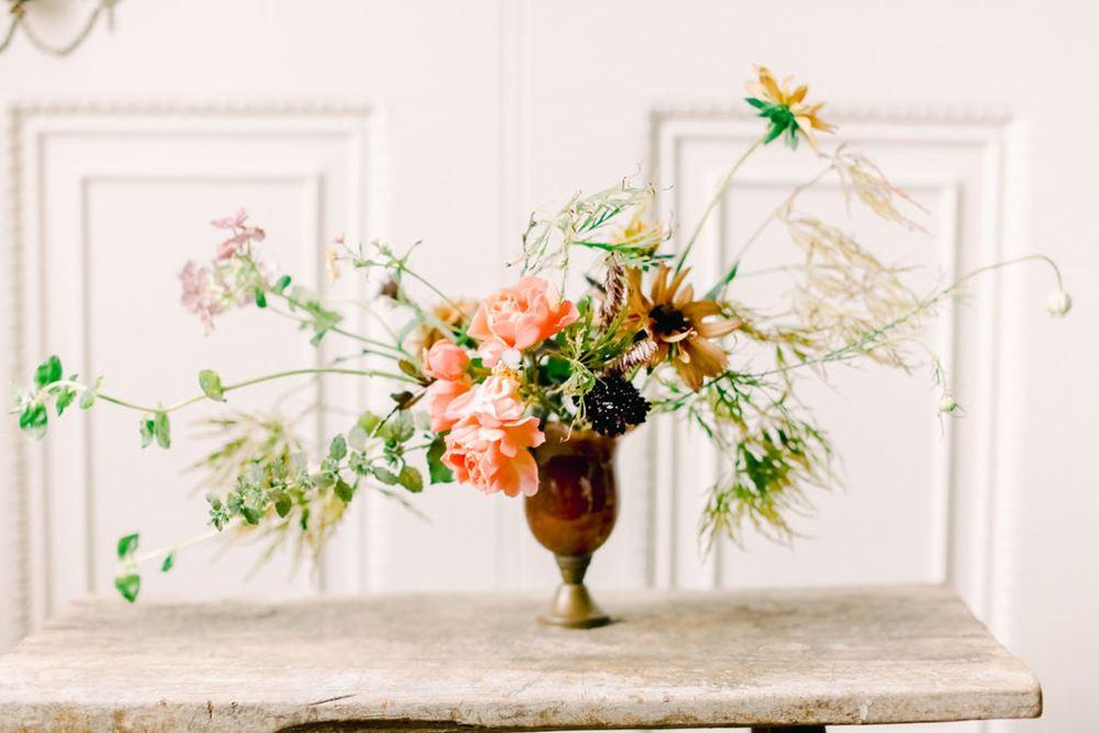 Les Ephemeres Loire Valley Wedding Flowers