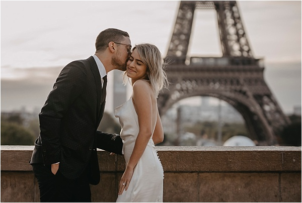 Love at the Eiffel Tower