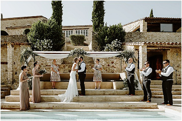 Outdoor Provence Countryside Wedding