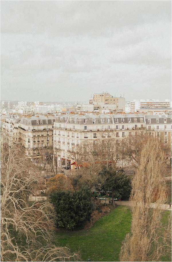 Paris and Parc des Buttes Chaumont