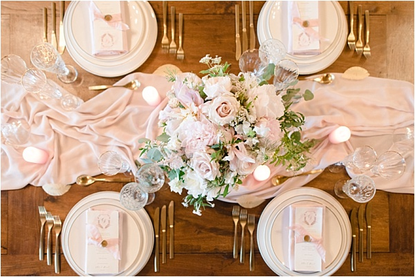 Pink Tablesetting