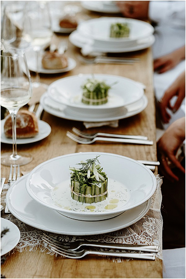 Provence wedding catering