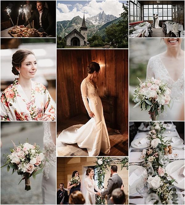 Romantic Adventurous Montenvers Wedding at Altitude Snapshot