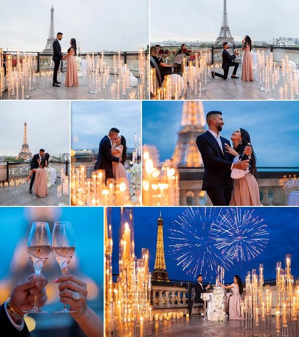 Romantic Paris Proposal Snapshot