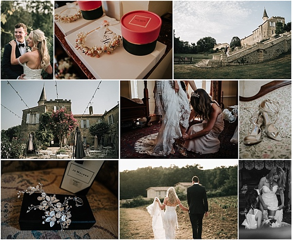 South West of France wedding at Chateau Lagorce Snapshot