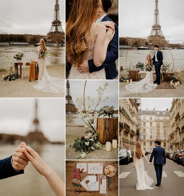 Vintage Romance in Paris Snapshot