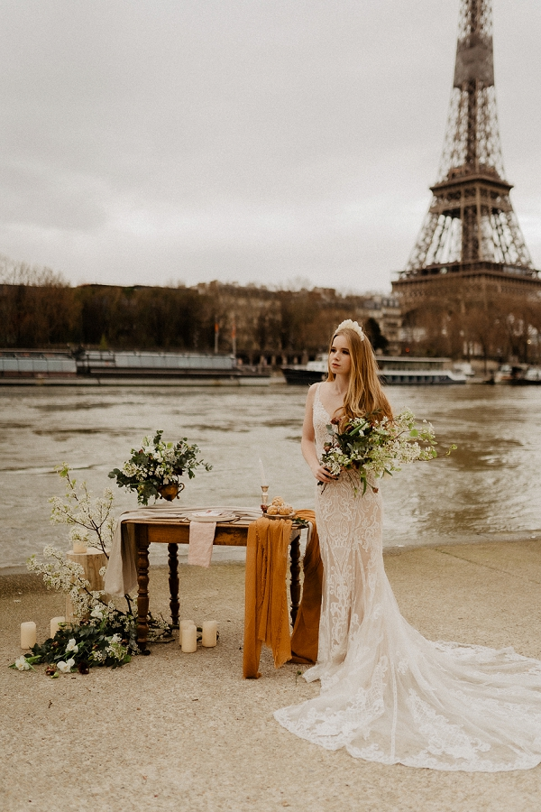 Vintage Romance in Paris inspiration shoot