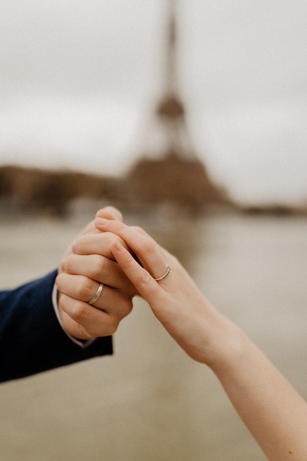 Vintage Romance in Paris wedding