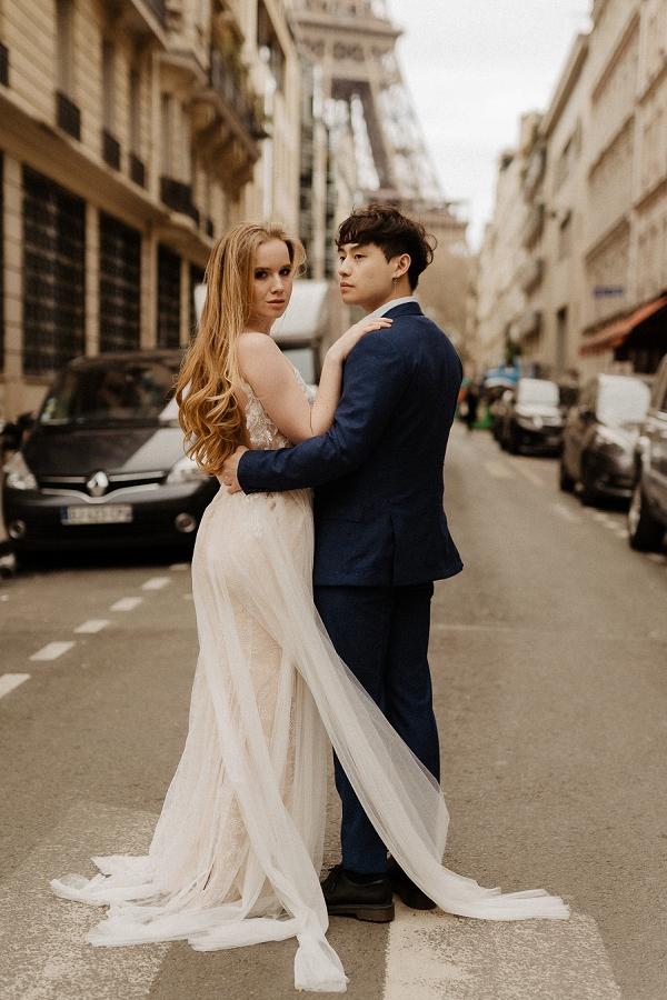 Vintage Romance wedding dress