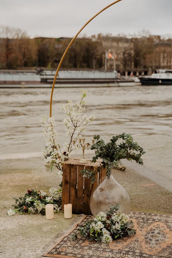 river side ceremony paris