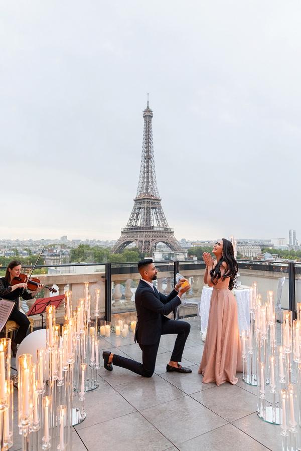romantic Paris Proposal