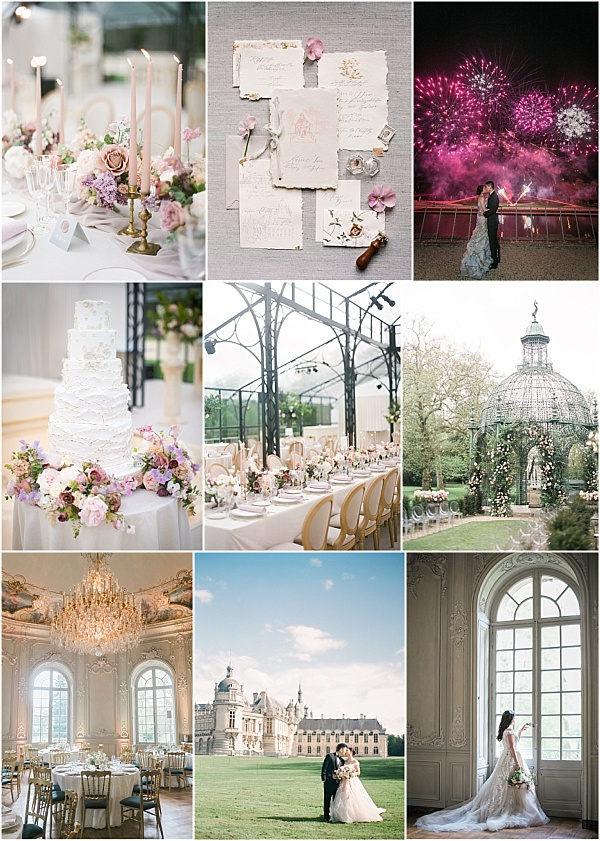 Monique Lhuillier Bride for Chateau de Chantilly wedding Snapshot