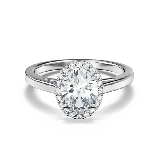 Aerial Oval Halo