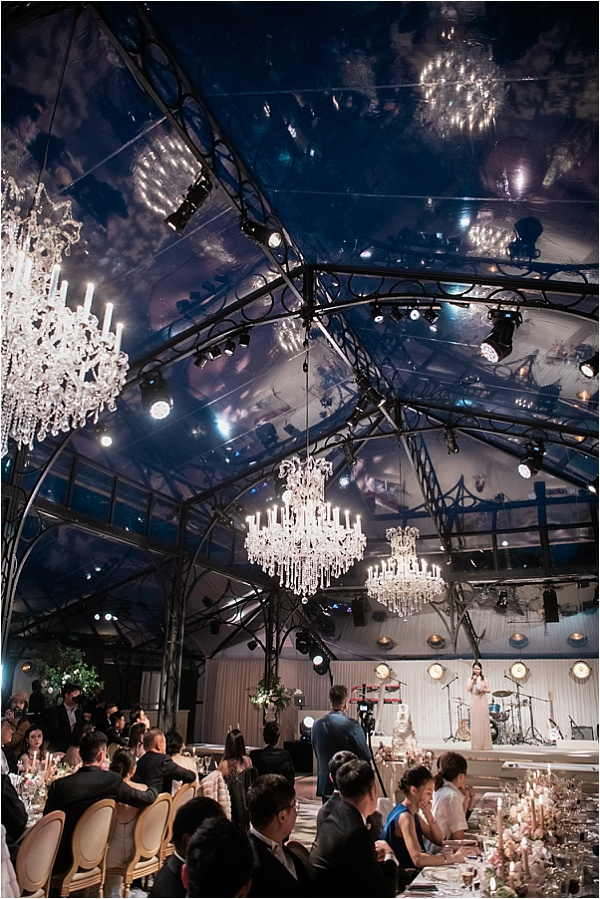 Beautiful reception tent