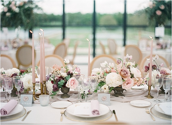 Beautiful tablesetting