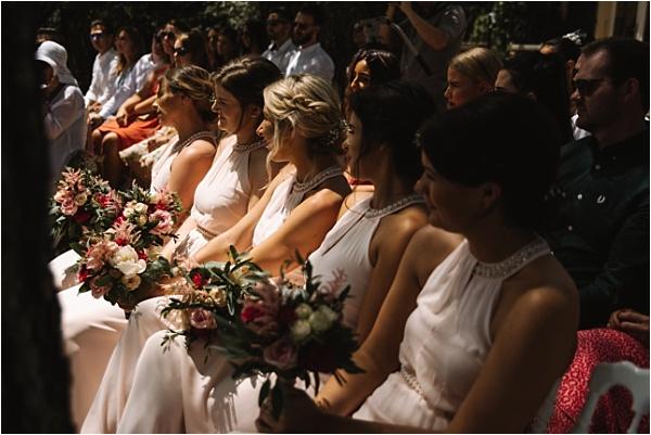Bridesmaids in anticipaiton